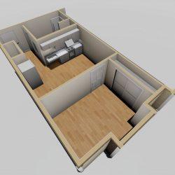1 Bedroom ADA_3D